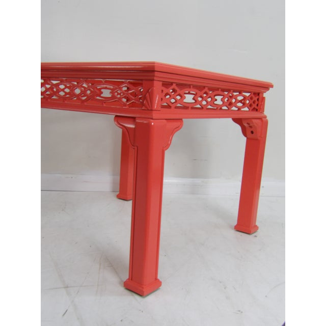 Contemporary Coral Class Top, Decorative Coffee Table For Sale - Image 4 of 7