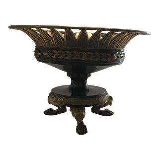1900s Impressionism Italian Bronze Urn