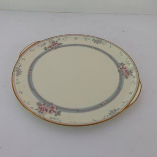 """Elegant Noritake Fine China in Magnificence Pattern Cake Platter With Handle 11.75""""l Preview"""