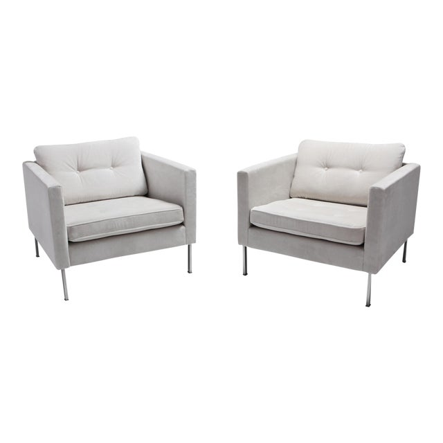 Pierre Paulin 446 Pair of Rare Club Chairs for Artifort For Sale
