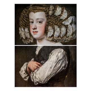 The Infanta & the Architect Old Master Print For Sale