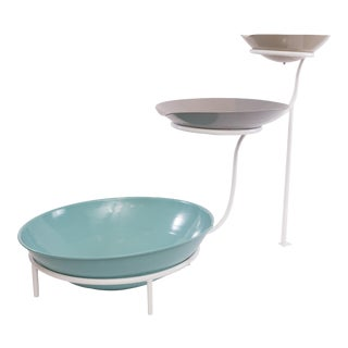 Midcentury 3-Tiered Fountain For Sale