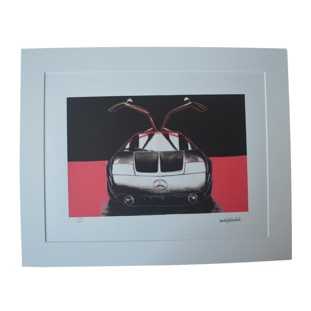 Andy Warhol Mercedes Benz Print - Image 1 of 5