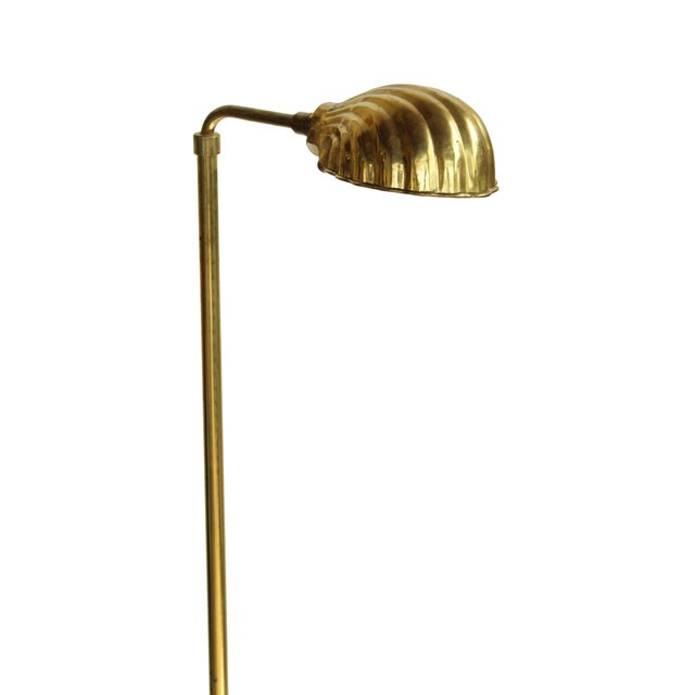 Chapman Lighting Adjustable Brass Reading Lamps, pair - Image 3 of 8