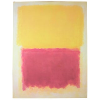 Mark Rothko, Beige, Yellow and Purple, Offset Lithograph For Sale