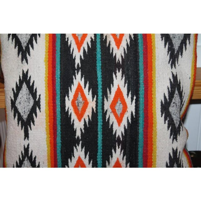 Amazing Early Geometric Navajo Eye Dazzler Pillow - Image 1 of 2