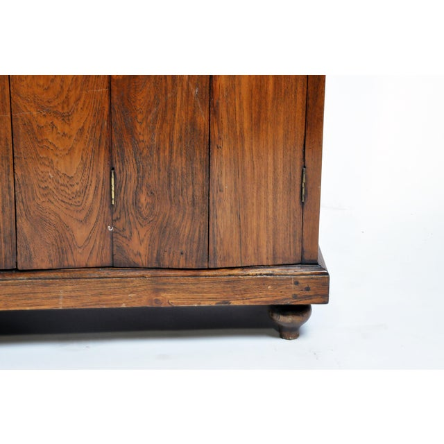 Art Deco Cabinet With Five-Panel Folding Doors From Burma For Sale - Image 10 of 13