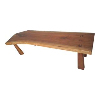 Refinished Live Edge Bench For Sale
