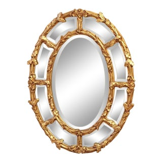 LaBarge Gesso Mirror For Sale