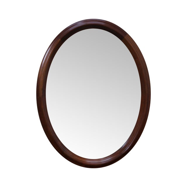 Stickley Cherry Valley Oval Mirror - Image 1 of 5