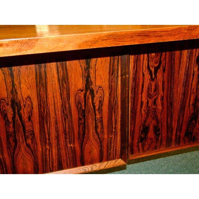 Arne Vodder Rosewood Executive Desk - Image 8 of 10