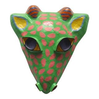 Vintage Gina Truex Paper Mache Giraffe Mask