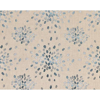 Hinson for the House of Scalamandre Firefly Fabric in Slate Blue For Sale
