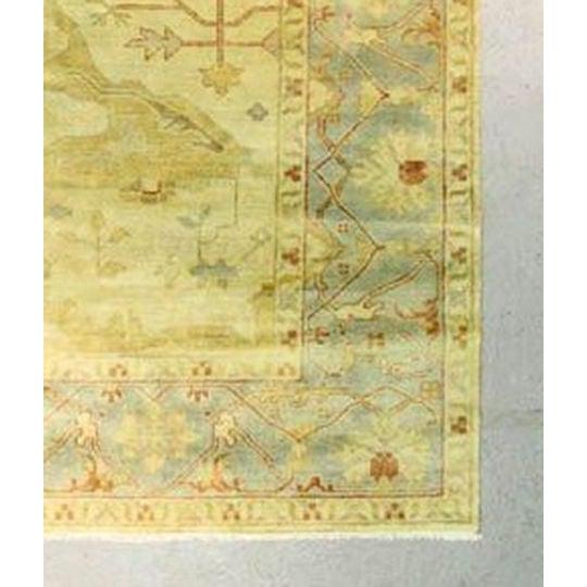 """Large Oushak Rug - 10' x 8'3"""" - Image 4 of 4"""