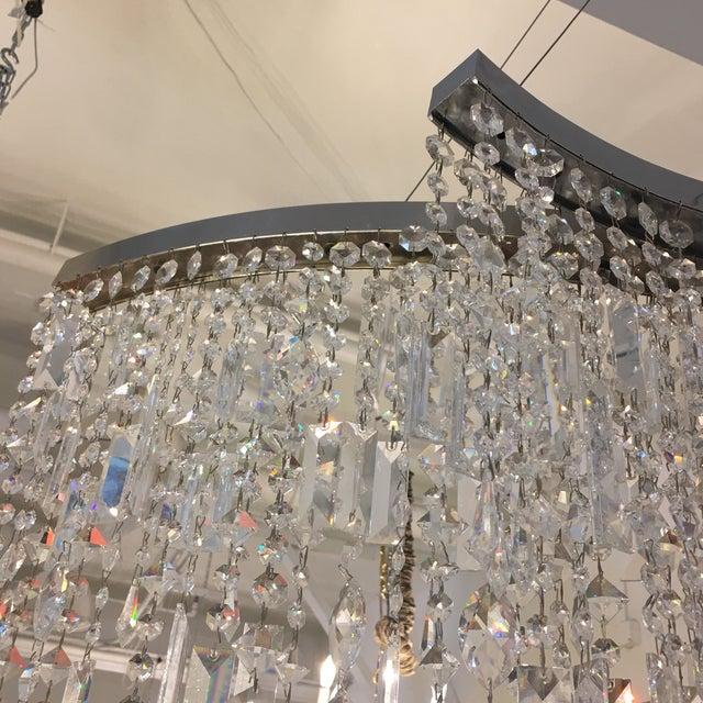 Italamp Italian Swarovski Crystal Chandelier - Image 9 of 9