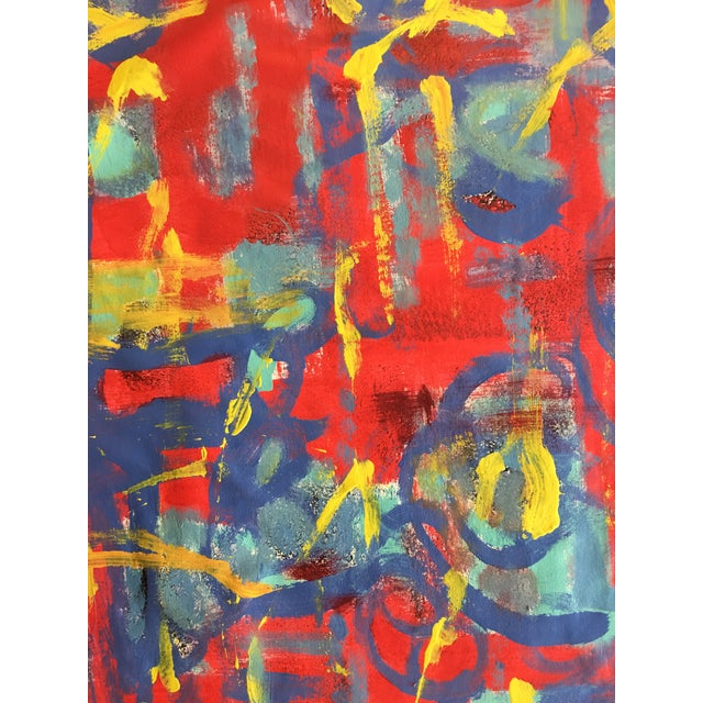 """Abstract """"What Should I Do?"""" Acrylic Painting by Alaina Suga Lane For Sale In Atlanta - Image 6 of 8"""