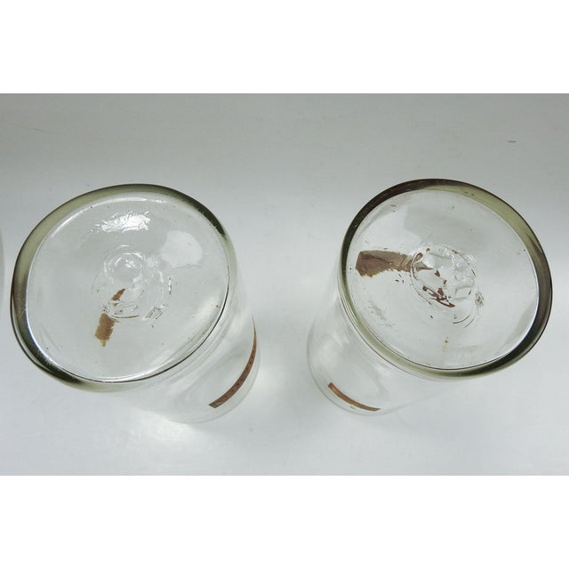 Mid 19th Century Hand Blown Antique Apothecary Jars - a Pair For Sale - Image 5 of 9