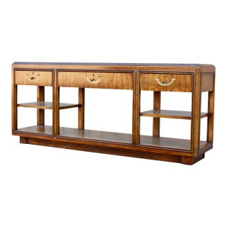 Campaign Drexel Accolade Sofa Table For Sale