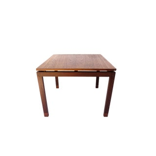 Mid-Century Hans Olsen Teak End Table || Made in Denmark || One of Two For Sale