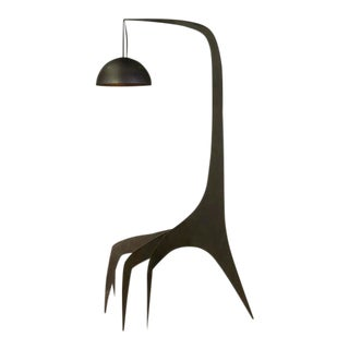 Kinetic Floor Lamp - Black For Sale