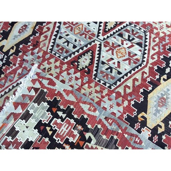 Vintage Anatolian Rug - 5′1″ × 9′3″ For Sale - Image 5 of 6