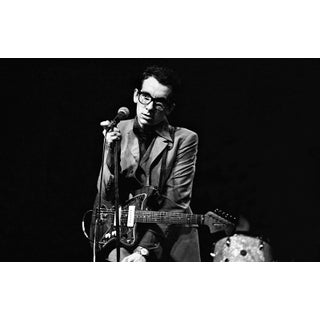 1978 Original Giclee Photograph of Elvis Costello For Sale