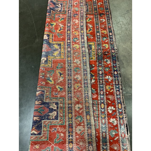 """Traditional Turkish Wool Oushak Rug - 4'5"""" X 7'9"""" For Sale In Atlanta - Image 6 of 6"""