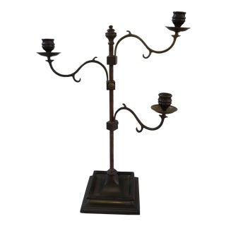 Maitland Smith Adjustable Candelabra For Sale