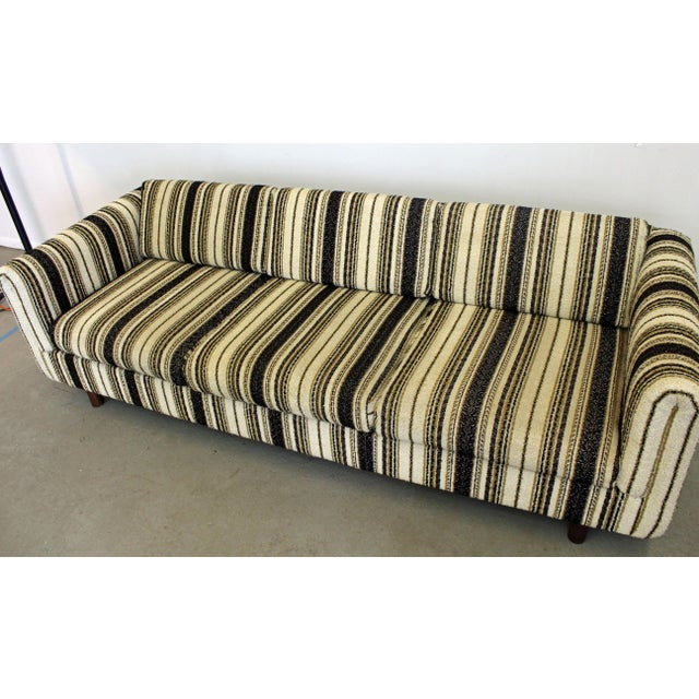 Textile Mid-Century Danish Modern Selig Vista Sofa For Sale - Image 7 of 10