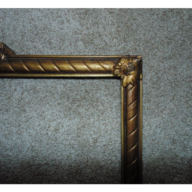 Victorian 19th Century Victorian Picture Frame For Sale - Image 3 of 5