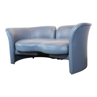 Modern Milo Baughman for Thayer Coggin Tete a Tete Loveseat For Sale