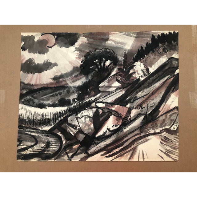 Oriskany Valley, New York Landscape by William Palmer, 1947 For Sale - Image 10 of 10