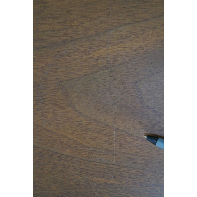 """Lane """"Perspective"""" Walnut End Tables - A Pair - Image 7 of 10"""