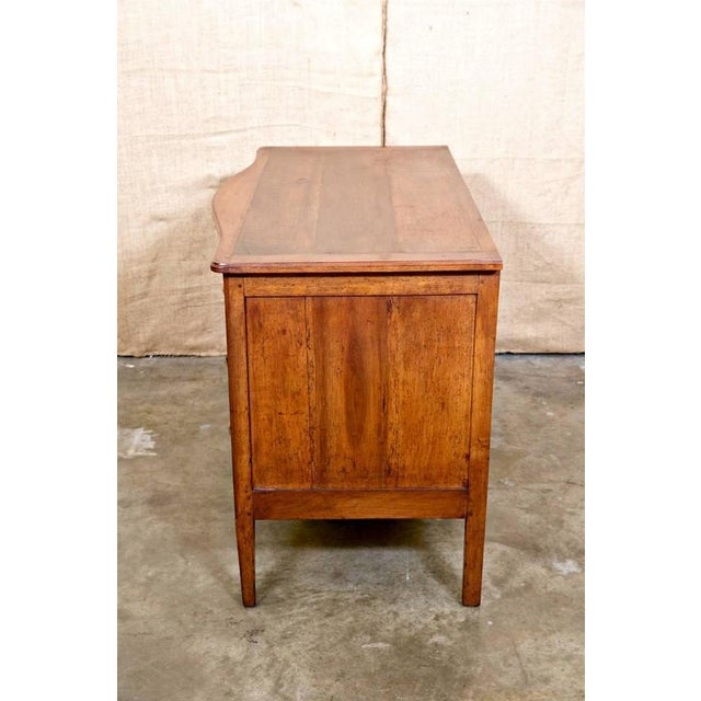 Brown 18th Century French Louis XVI Period Parquetry Commode For Sale - Image 8 of 11