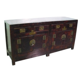 Antique Chinese Sideboard For Sale