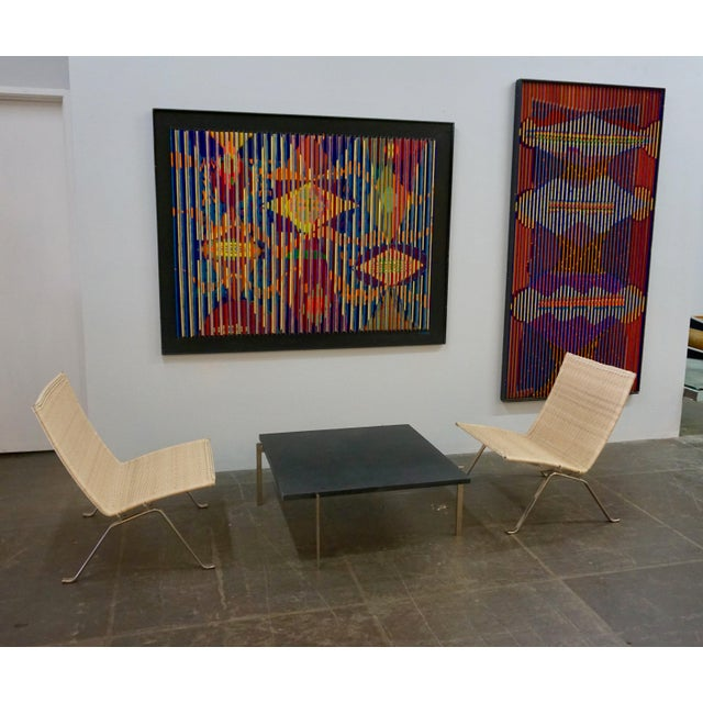 Poul Kjaerholm Pk22 Chairs for E.Kold Christiansen - a Pair For Sale - Image 9 of 10