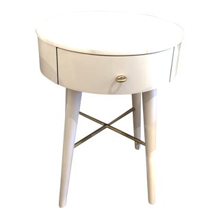 Penelope Nightstand With Marble Top For Sale