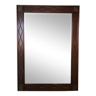 Vintage La Barge Mahogany Wall Mirror For Sale