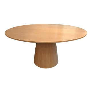 round oak dining table - Round Oak Dining Table