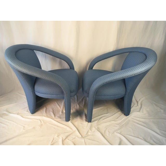Chic and modern, these sculptural chairs are stunning as well as comfortable