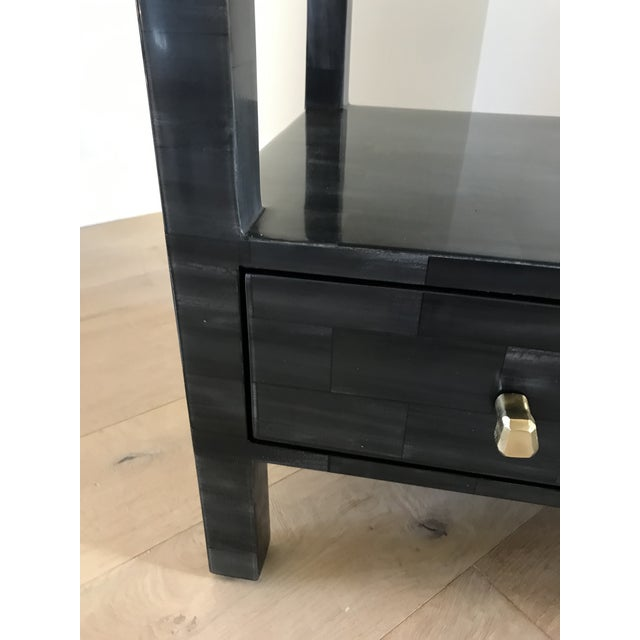 Yaren Double Faux Horn Nightstands-A Pair For Sale In Los Angeles - Image 6 of 13