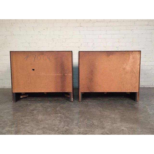 Milo Baughman for Dillingham Mid-Century Modern Nightstands - a Pair - Image 6 of 8