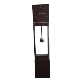 Mid-Century Modern Floor Clock For Sale