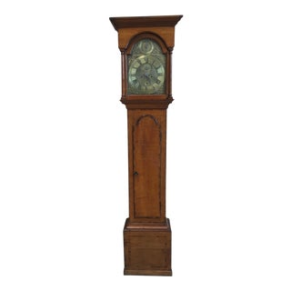 18th Century Longcase 8 Day Time & Strike Clock