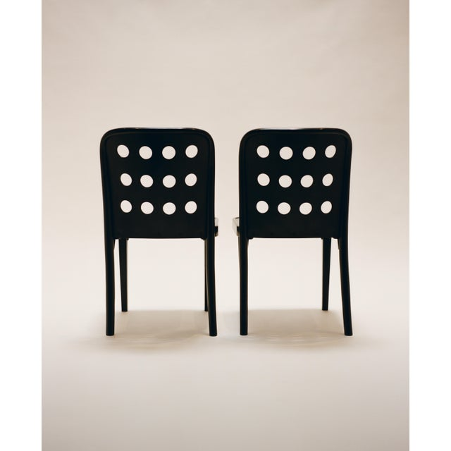 Thonet Josef Hoffmann and Oswald Haerdtl Set of Four Side Chairs C. 1928 For Sale - Image 4 of 7