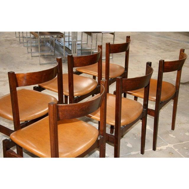 Gianfranco Frattini Six Gianfranco Frattini Chairs For Sale - Image 4 of 11