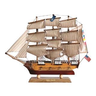 "Vintage Model Ship ""uss Constitution"" For Sale"
