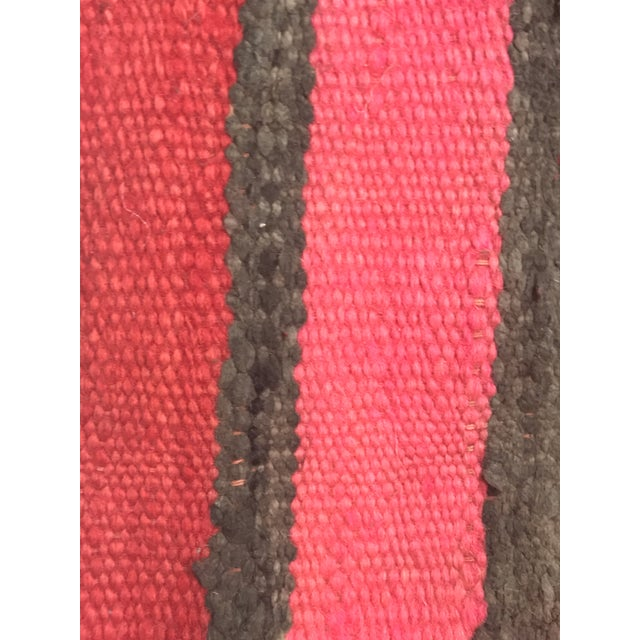 Vintage Moroccan Wool Pillow - Image 10 of 10