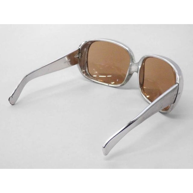 Mid-Century Modern Op Pop Mod 1960s German Fashion Sunglasses For Sale - Image 3 of 4