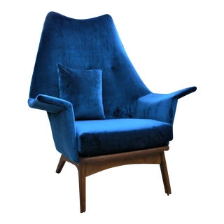 Mid Century Modern Adrian Pearsall Chair 1611-C For Sale